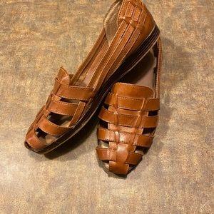 Cabin Creek Leather Fisherman Sandals